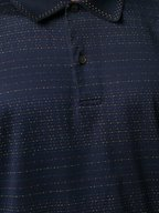 Paul Smith - Navy & Multicolor Polka Dot Polo