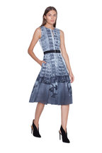 Akris - Magnet Photo Print Cotton Sleeveless Dress