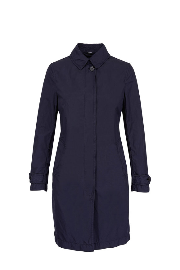 Aspesi Salish Navy Long Coat