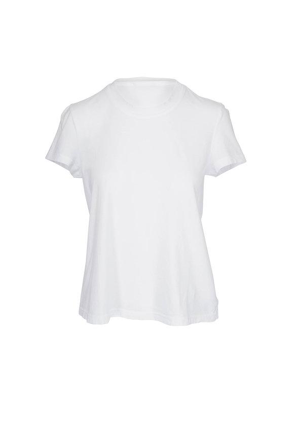 James Perse Vintage White Cotton T-Shirt