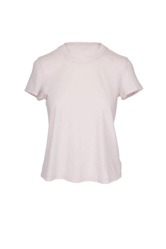 James Perse Vintage Pink Cotton T-Shirt