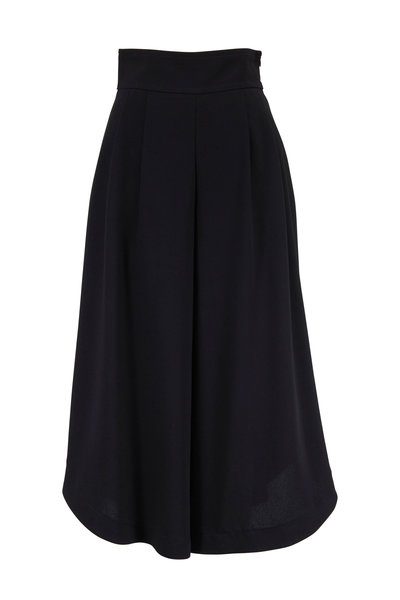 See by Chloé - Black Wide Waist Culotte