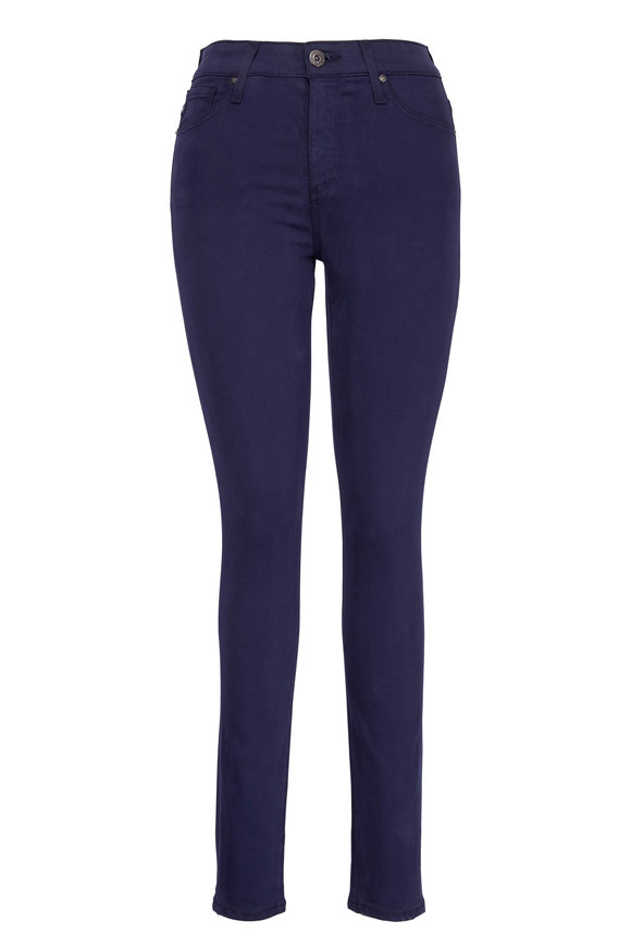 AG - Adriano Goldschmied Farrah Ink High-Rise Skinny Ankle Jean