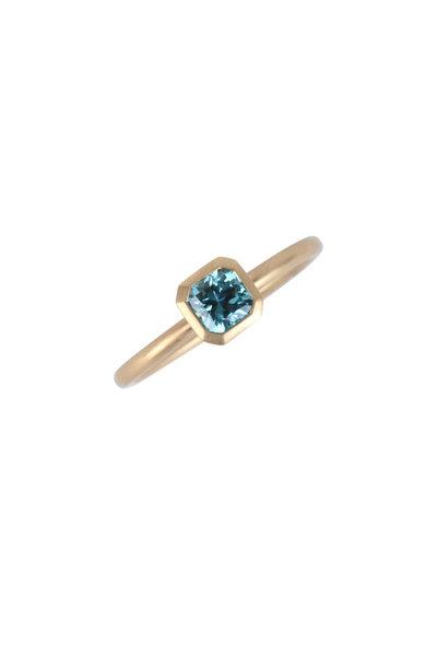 Cairo - 18K Yellow Gold Zircon Ring