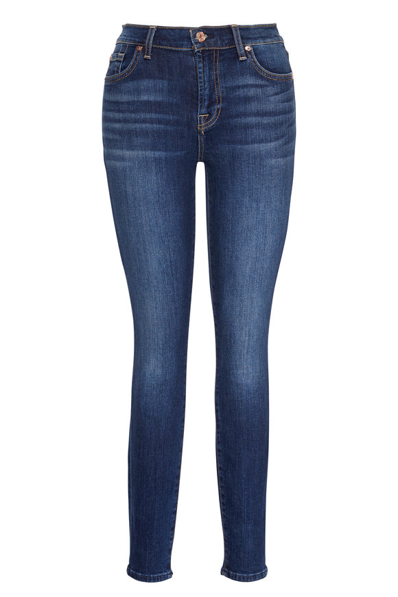 7 For All Mankind B(air) Authentic Fate Ankle Skinny Jean
