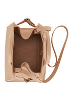 The Row - Margaux 10 Light Camel Small Top Handle Bag