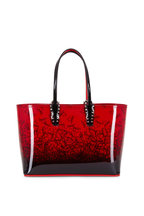 Christian Louboutin - Cabata Red & Black Patent Small Tote