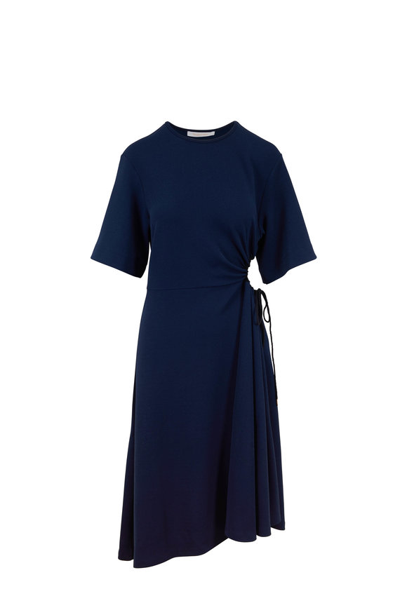 16ddd66ece See by Chloé Navy Side Cutout Dress