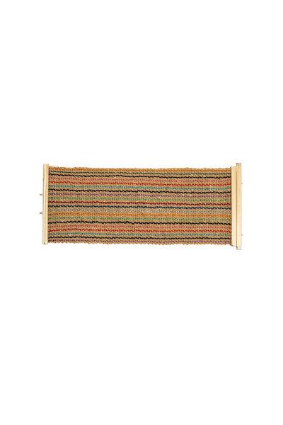 Carolina Bucci - Gold Rainbow Striped Woven Bracelet