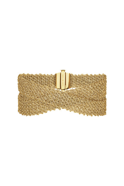 Carolina Bucci - 18K Yellow Gold Woven Bracelet