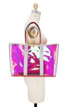 Christian Louboutin - Cabata Iridescent & Glitter PVC Large Tote
