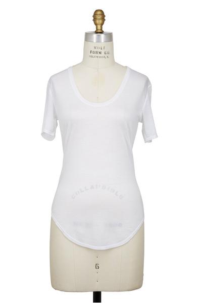 Helmut Lang - White Modal T-Shirt