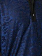 Paul Smith - Navy & Black Animal Print Jacquard Polo