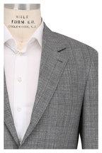 Brunello Cucinelli - Gray Plaid Wool, Linen & Silk Suit