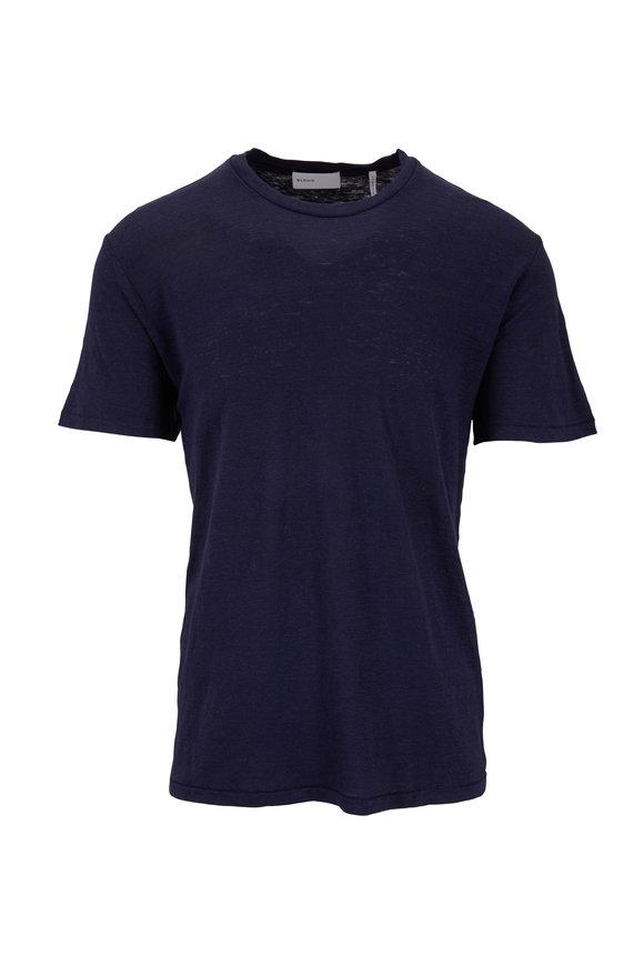 BLDWN Nolan Midnight Linen T-Shirt