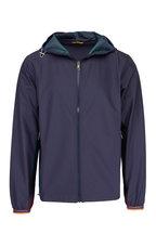 Paul Smith - Navy & Multicolor Paneling Full Zip Jacket