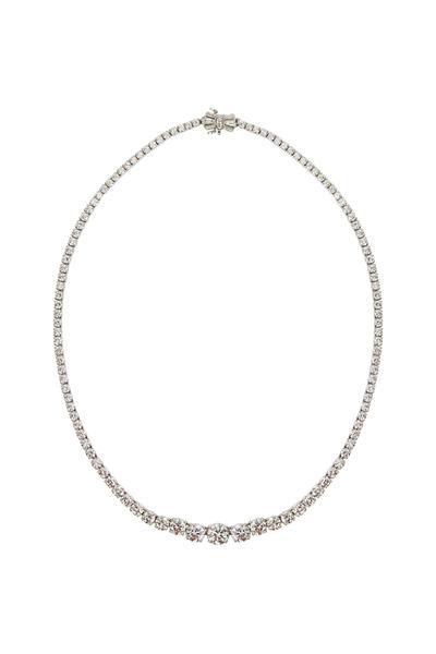 Kwiat - Riviera Platinum White Diamond Necklace