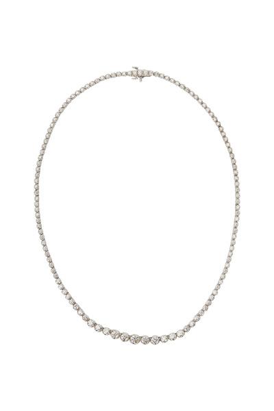Kwiat - Riviera White Gold White Diamond Necklace