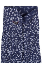 Paul Smith - Navy Blue Floral Dress Shirt