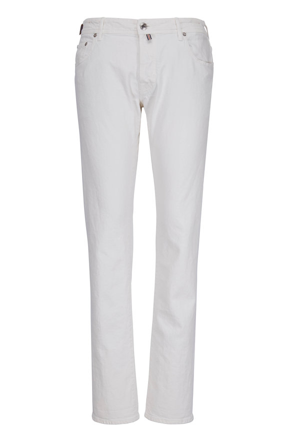 Jacob Cohen  Limited Edition White Jean