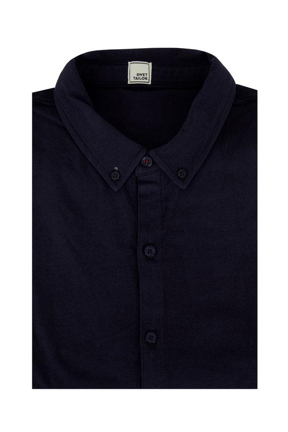 Swet Tailor Mindful Navy Blue Sport Shirt