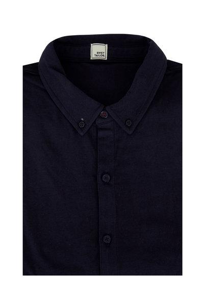 Swet Tailor - Mindful Navy Blue Sport Shirt