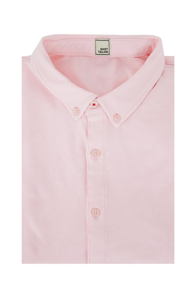 Swet Tailor - Mindful Light Pink Sport Shirt