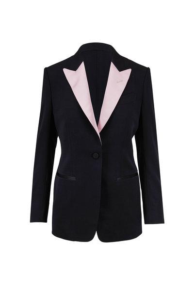 Tom Ford - Black Silk Peak Lapel Tuxedo Jacket
