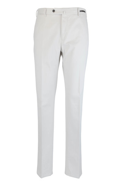 PT Torino - Stone Stretch Cotton Slim Fit Pant