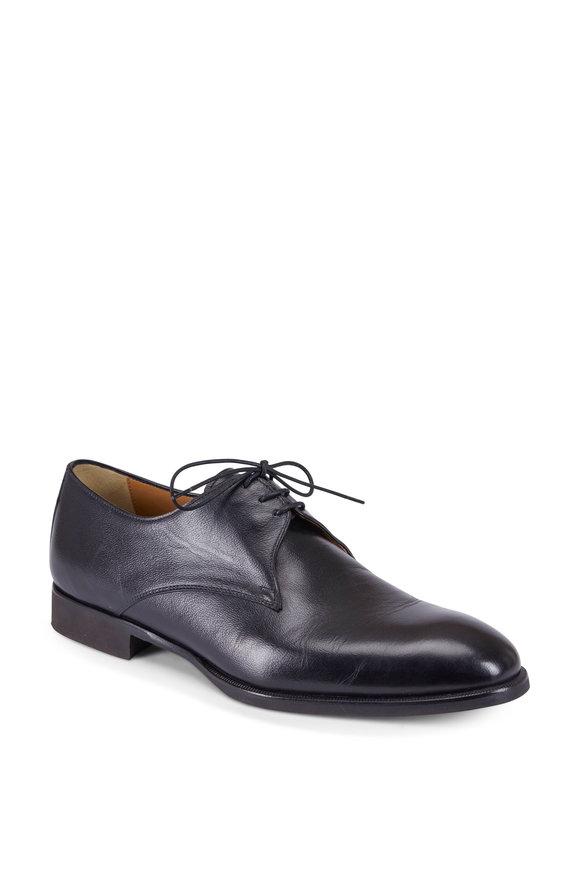 Di Bianco Bahia Dark Brown Leather Derby Shoe