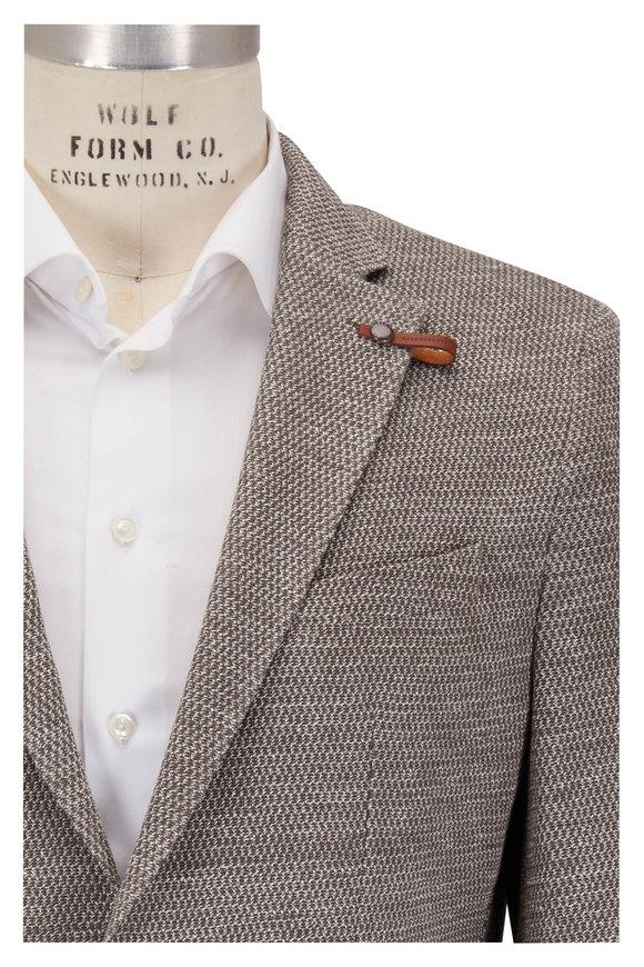 Baldessarini Natural Cotton & Linen Textured Sportcoat