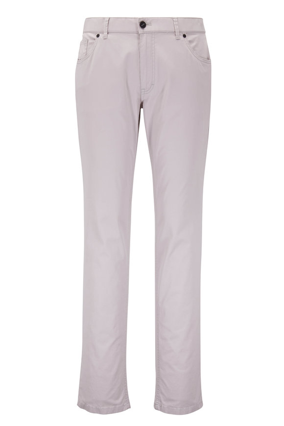Hiltl Seth Stone Cotton Stretch Five Pocket Pant