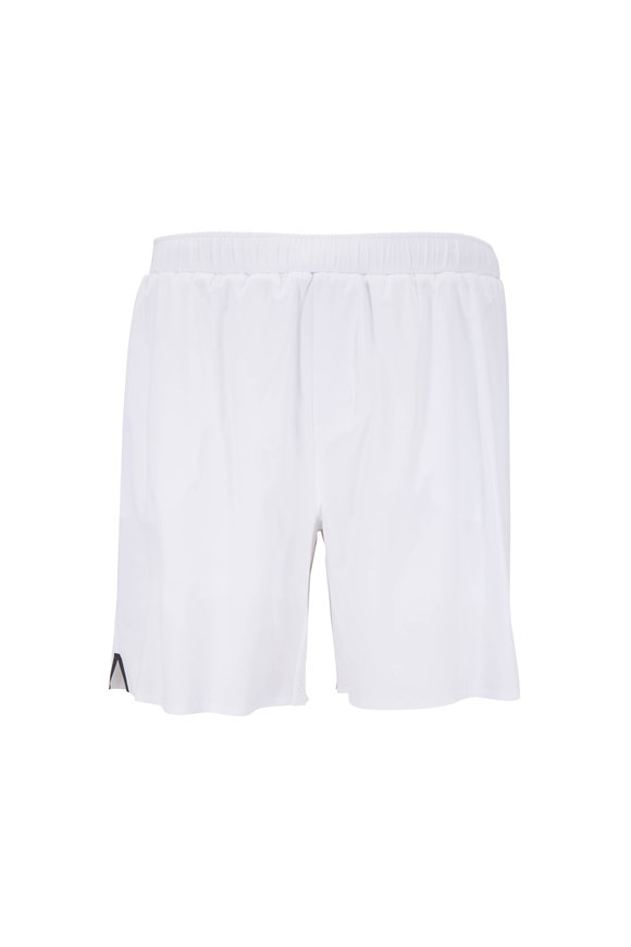 Rhone Apparel Swift White Perforamnce Shorts