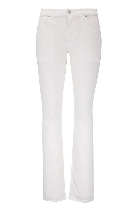 Hudson Clothing Blake Dirty White Slim Straight Jean