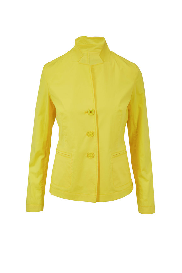 Bogner Alexa Yellow Stretch Cotton Jacket