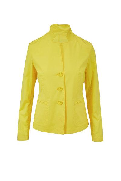 Bogner - Alexa Yellow Stretch Cotton Jacket