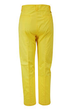 Bogner - Abbie Bright Yellow Stretch Cotton Pant