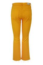 AG - Jodi Gold High-Rise Crop Flare Jean