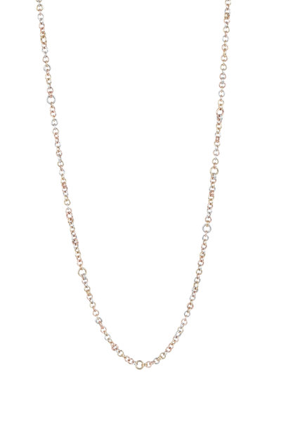 Spinelli Kilcollin - Mixed Metal Gravity Cable Chain