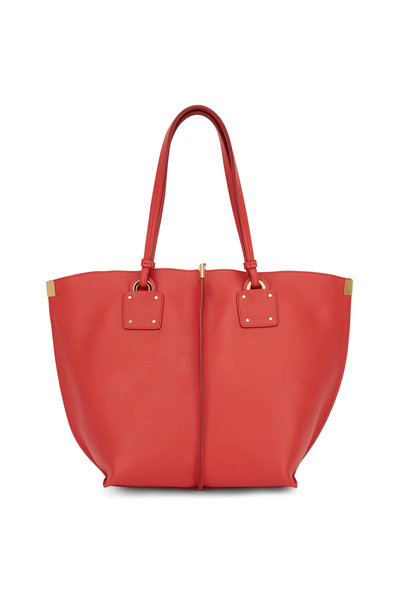 Chloé - Vick Red Leather Medium Tote