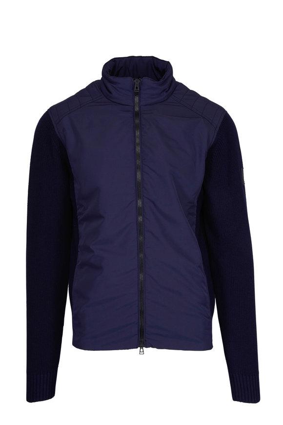 Belstaff Abbott Navy Full Zip Jacket