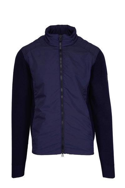 Belstaff - Abbott Navy Full Zip Jacket
