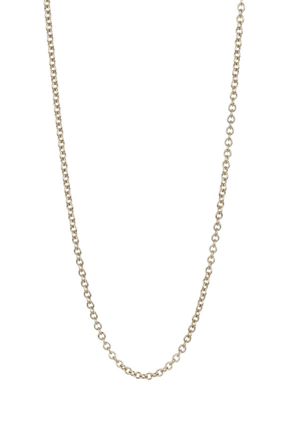 Julez Bryant 18K Yellow Gold Rolo Chain Necklace