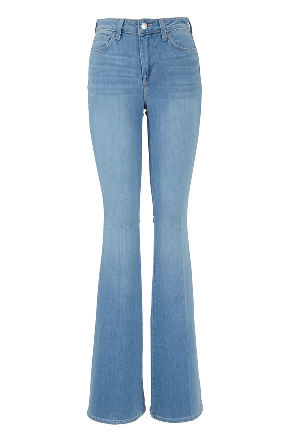 L'Agence Bell Blue Cloud High-Rise Flare Jean