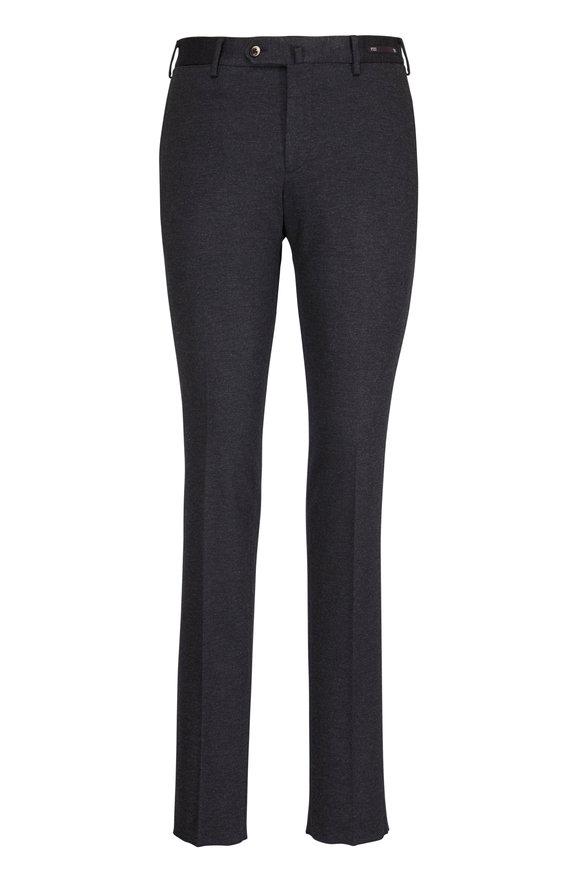 PT Pantaloni Torino Traveler Coal Slim Jersey Pant