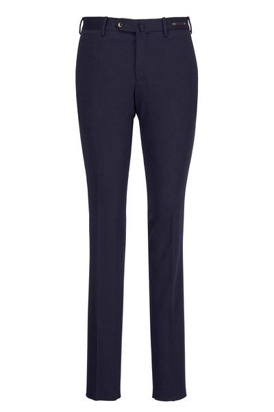 PT Torino - Traveler Navy Slim Jersey Pant