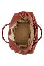 Moore & Giles - Benedict Honey Titan Milled Leather Weekend Bag