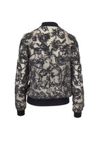 Brunello Cucinelli - Desert Silk Voile Bomber Jacket