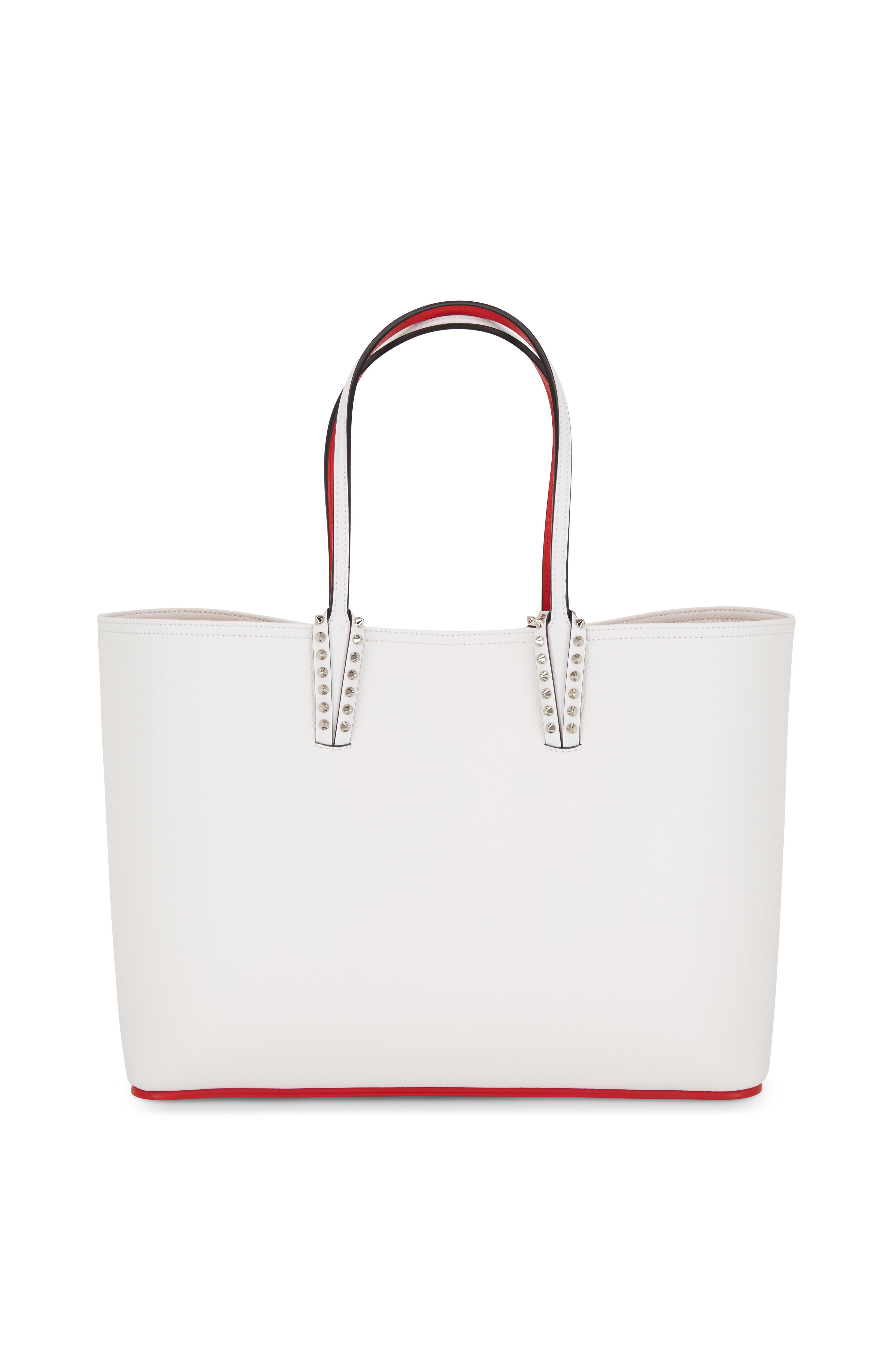 25eb7ed1238d Christian Louboutin - Cabata Snow White Leather Tote