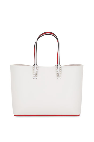 Christian Louboutin - Cabata Snow White Leather Tote